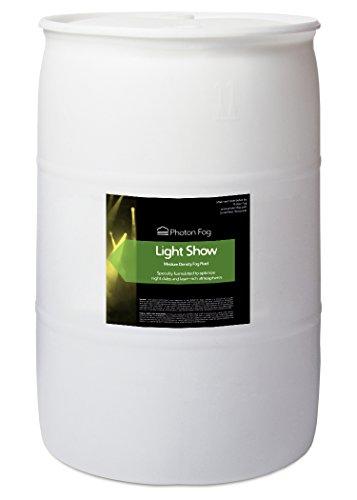 (Light Show Fog Fluid - 55 Gallon Drum)