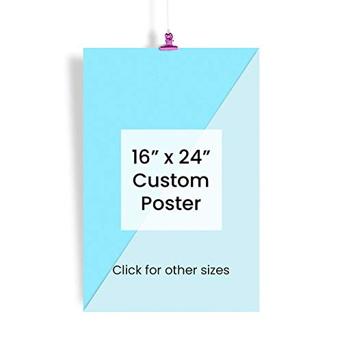 EzPosterPrints - Custom Poster Prints - Personalized Photo Image to Poster, Upload Your Image/Photo for Wall Art Printing - 16 X 24 inches (Print 16 Personalized)
