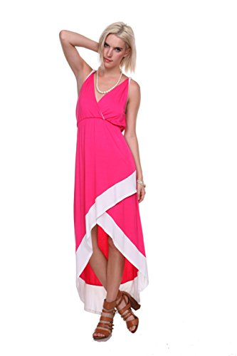 stanzino-womens-asymmetric-hem-colorblock-long-dress