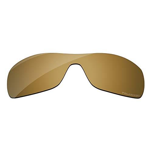 PapaViva Lenses Replacement for Oakley Antix Bronze Golden - Polarized