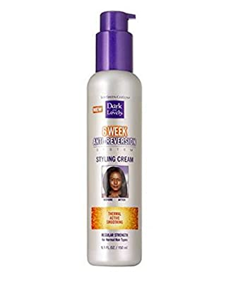 Softsheen Carson Dark & Lovely 6 Week Anti-Reversion Styling Cream Regular Strength 5.1oz