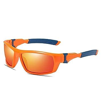 Mjia sunglasses Gafas Deportivas Hombre,Gafas de Sol polarizadas, Espejo de equitación al Aire