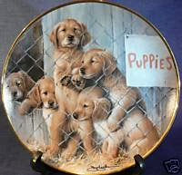 Adopt a Puppy, ASPCA Limited Edition Collector Plate