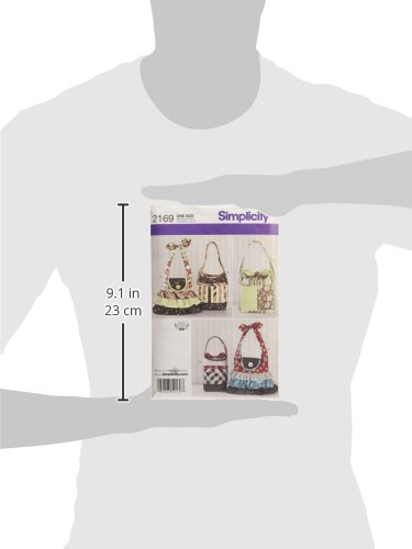 Simplicity Shirley Botsford Designs Pattern 2169 Women's Purses and Bags