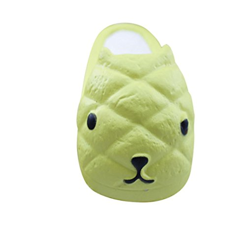 Sikye Simulation Food Squishy Super Slow Rising Kid Scented Squeeze Fruit Decompression Toys (N) (Halloween N-slow)