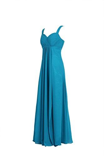 YiYaDawn Prom Vestido sin espalda vestido de noche largo para mujer Rosa