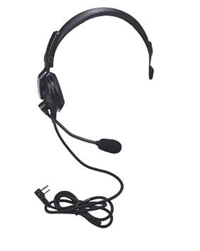 Kenwood Electronics Audio Ein-/Ausgabegeräte Monoaural Diadema Negro Auricular con micrófono - Auriculares con