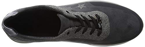 iron Schwarz Gris 13 Osaka Zapatillas ara Crow Mujer para Fucile XIw0fxqO