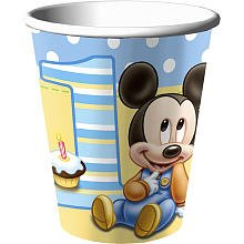 Mickeys 1st 9 Oz Cups Package of 8