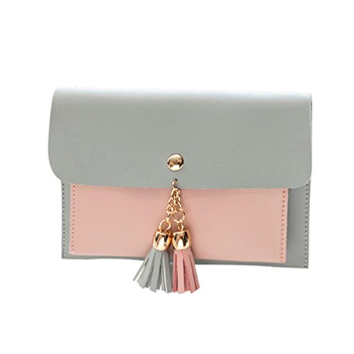Phone Crossbody Shoulder Strap Backpacks Bags Women Purses Tassels Fashion Satchel BagVEMOW Pink Handbag Theft Bags Cover Anti Double Messenger Tote Girl Bag Deck Purse Clutches Vintage 0pg0qrF