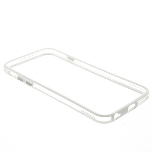 Iphone 6/6s Silicon Bumper Transparent White by G4GADGET®