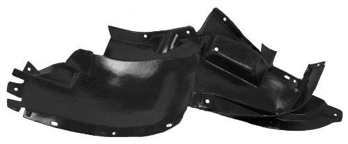 Partslink Number GM1250103 OE Replacement Oldsmobile Alero Front Driver Side Fender Splash Shield