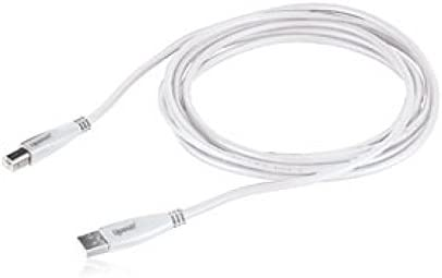 SHIPS FREE NEW!! Gigaware 10-ft USB 2.0 Extension Cable White