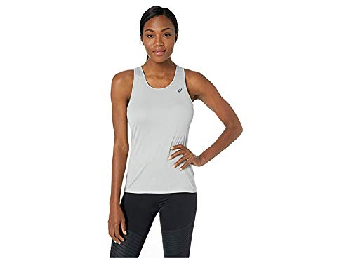 ASICS Women's Silver Tank, Mid Grey, X-Large by ASICS
