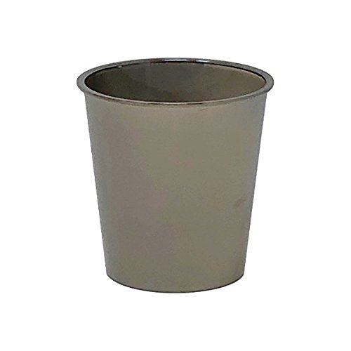 - Metallic Dark Silver Solid Plastic Shot Glass 1oz 30pcs - Excellent Home Decor - Indoor & Outdoor