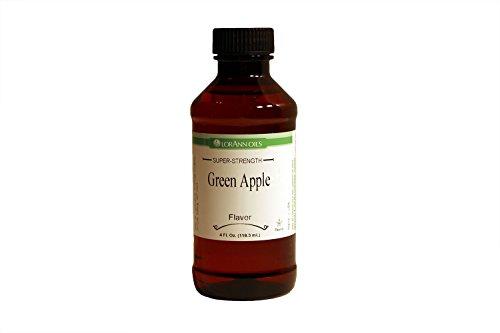 Lorrann Green Apple Flavor 4 Oz,