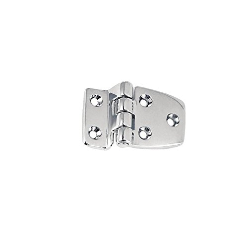[Perko 1214DP1CHR Offset Short Side Hinge, Chrome Plated Zinc Alloy, 2 1/2-Inch] (2.5