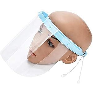 Máscara Anti y Saliva película Protectora Máscara Médica, 10 Piezas Careta Protectora de la película de Recambio para el… 6