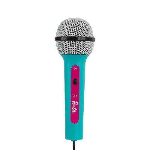 Barbie Kids Bluetooth Karaoke Machine with Light-Up Disco Ball by Barbie (Image #2)