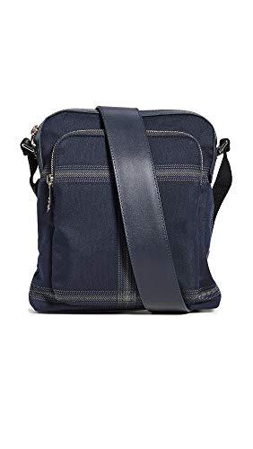 Paul Smith Men's Check Crossbody Bag, Blue, One Size