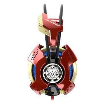 E-3lue E-Blue Iron Man 3 Gaming Headset Marvel PC Headphones