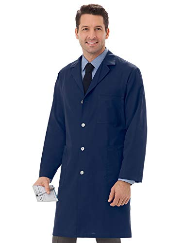 Meta 6116 Unisex Lab Coat Navy XL