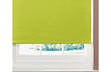 ColourMatch 6ft Thermal Blackout Roller Blind Apple Green