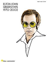 Elton John - Greatest Hits 1970-2002 Piano, Vocal, Guitar Songbook ()