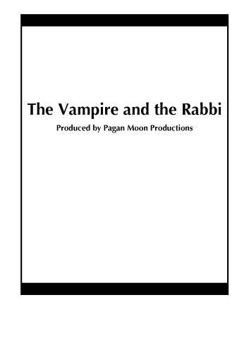 (The Vampire and the Rabbi)