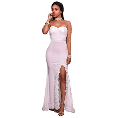 cfbf88a3690 Party Bigforest Neck Sweet Soir¨¦e Robe Backless Dress White Heart Gown  Femme Cocktail Bridesmaid Bq8R4wB