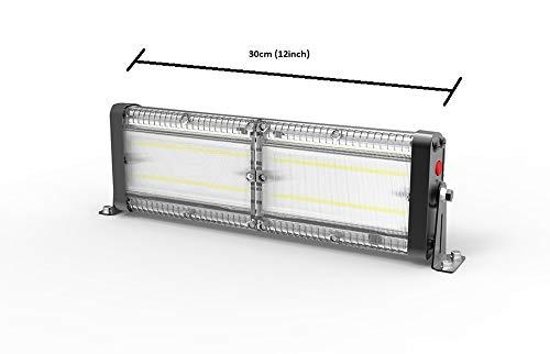 Solar LED Barn Light, 12,000mah Li-ion Battery for Outdoor/Indoor Flood Light with Remote Control, 4,000 Lumen by SPC by Tera Light - URANUS (Image #1)