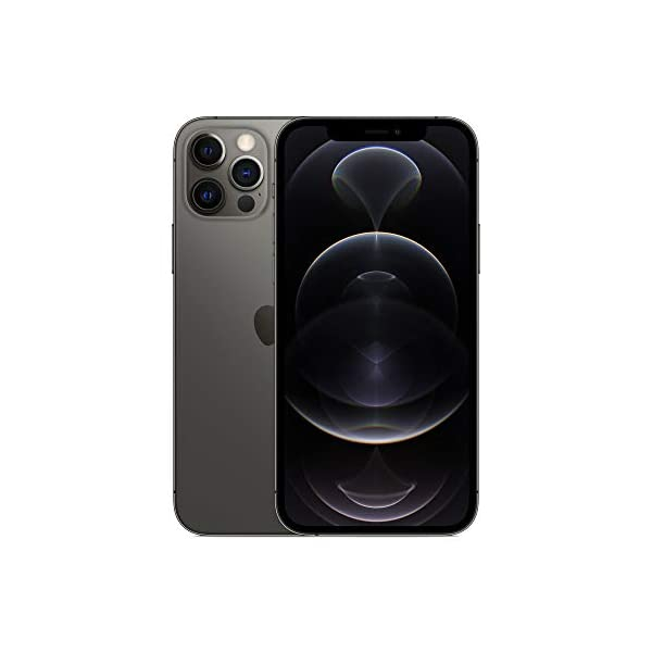 New Apple iPhone 12 Pro (128GB) - Graphite 2021 July 6.1-inch (15.5 cm diagonal) Super Retina XDR display Ceramic Shield, tougher than any smartphone glass A14 Bionic chip, the fastest chip ever in a smartphone