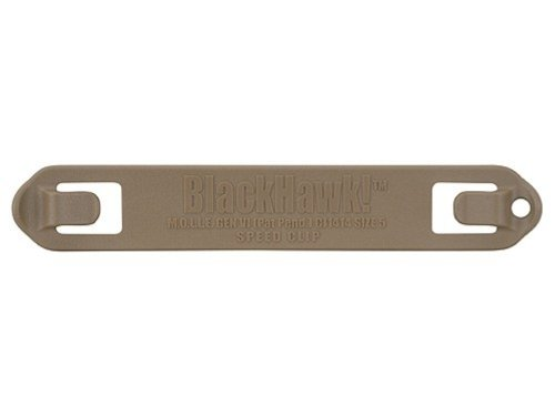 BLACKHAWK!! Speed Clips (6-Pack #7), Coyote Tan
