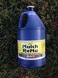 Mulch Dye Jet Black: 1 gallon-Bring color back into your yard with Mulch Renu