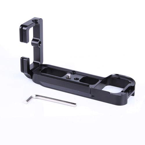Raintoad L Shaped Bracket Quick Release QR Plate Aluminum Alloy Compatible with Sony A7R A7 A7S Vertical Shooting Tripod Head Grip Arca-Swiss 1/4'' Screw Holes by Raintoad