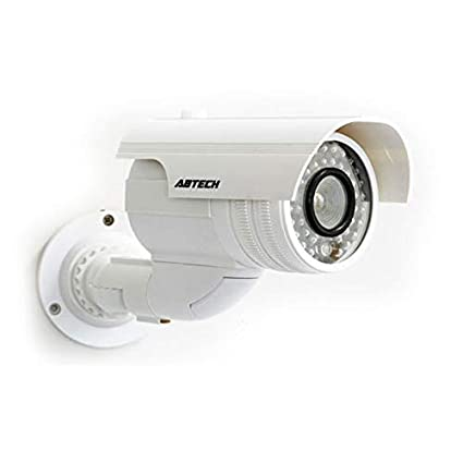 4 x Profesional cámaras Dummy Exterior cámaras Dummy Cámara Falsa con Objetivo y blinkled Videovigilancia Ware
