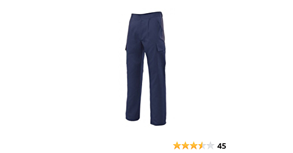 Azul marino Talla 50 Velilla 31601 Pantalones