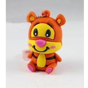 16GB Disney Tigger Shaped Cute Cartoon USB Flash Drives, Data Storage Device, USB Memory Stick Pen, Thumb Drive