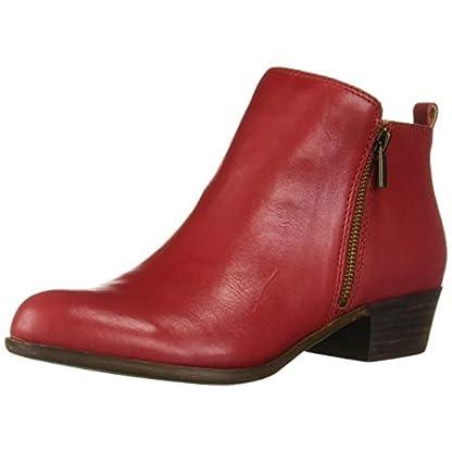 Lucky Brand Women's LK-Basel Ankle Boot, Garnet, 6.5 1