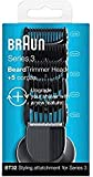 Braun BT32 Trimmer Head for Beards, with 5 Combs for Precision Trimming(pack of 2)