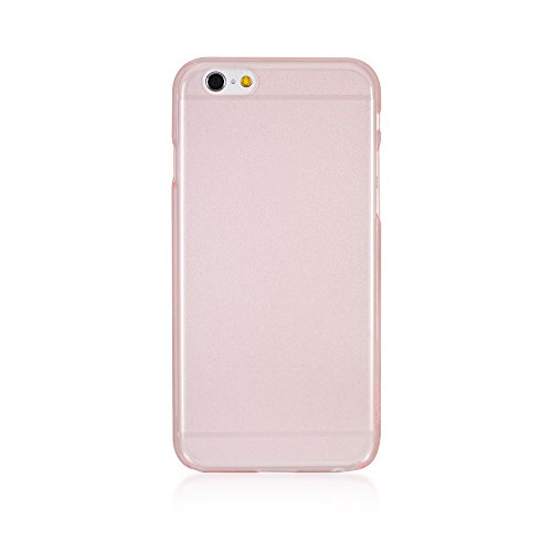 Bling My Thing Transparent Polycarbonate Case for iPhone 6 4.7-Inch - Retail Packaging - Tinted (Tinted Pink Case)