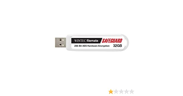 3FMSP04U2SFG-32G-R Wintec Filemate Safeguard 32 GB Secure Drive