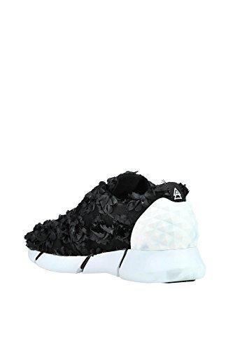 Elena Iachi Kvinder Mcglcak03088e Hvid / Sort Klud Sneakers TgkmVdj