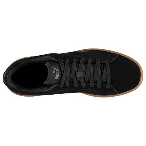 BLACK Unisex Sneaker Smash Erwachsene BLACK Puma V2 vZWfqnqS