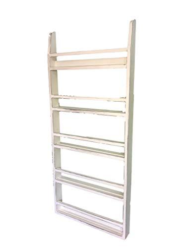 (Farmhouse Style Plate Rack Country Home Decor Shelf)