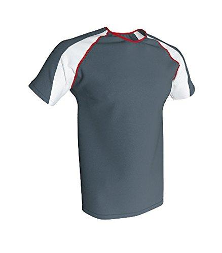 ACQUA ROYAL - Camiseta Tecnica Trail, Color Gris Antracita/Blanco, Talla XXL: Amazon.es: Ropa y accesorios