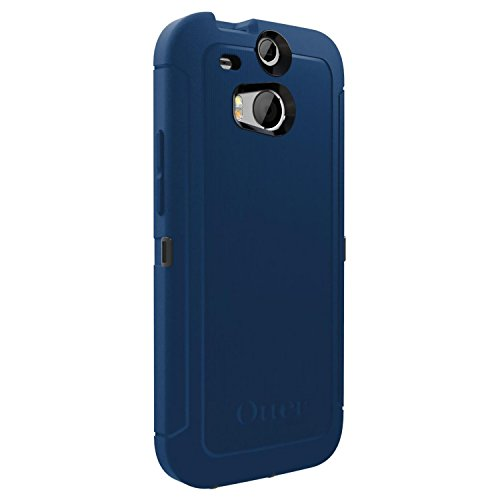 OtterBox 77-39247 'Defender Series' Protective Case for HTC One M8 Phone - Blueprint (Retail Packaging from OtterBox)
