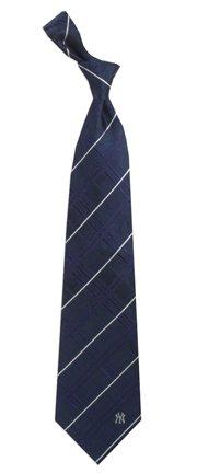 New York Yankees Oxford Woven Silk Adult Tie from Eagles Wings (New York Yankees Ties)