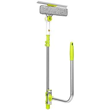 Limpie el cristal de los artefactos de doble cara del actuador de barrido edificio cleaner home ? cepillo telescópico de limpiaparabrisas de la ventana de ...