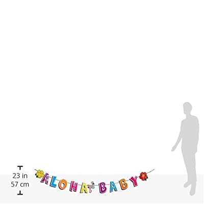 Hula Baby Streamer Party Accessory (1 count) (1/Pkg): Kitchen & Dining